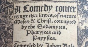 A racy title from 1538