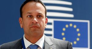 Taoiseach Leo Varadkar: contributed €1,700 of Fine Gael's declared donations of €65,324. Photograph: Julien Warnand/Reuters