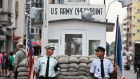 The Cannon bothers most high-profile purchase was in 2007 when they acquired development land at the Checkpoint Charlie site. Photograph: Getty