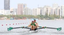 Ireland's Gary O'Donovan and Paul O'Donovan: the  Olympic silver medallists could be crowned World Cup series winners at Lucerne in two weeks' time. Photograph: James Crombie/Inpho