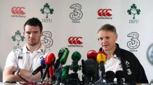 "Joe Schmidt: ""Pete is smart as well as tough, and he's athletic, which makes him the lineout operator that he is."""