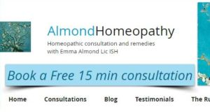 The website of Almond Homeopathy: the respondent said she  did not diagnose conditions but used people's symptoms to decide upon the best course of treatment.