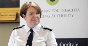 "Garda Commissioner Nóirín O'Sullivan. ""Interrogating the commissioner before the Public Accounts Committee has become a political blood sport."" Photograph: Eric Luke"