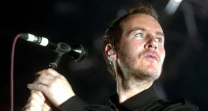 Robert Del Naja, singer of British band Massive Attack,  has not confirmed the recent allegations. Photograph: Sandro Cmpardo/EPA