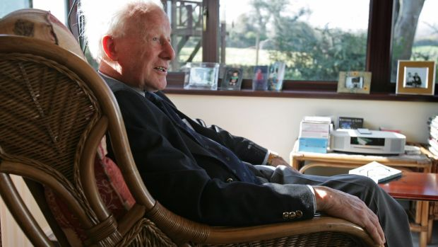 Jack Kyle at his home in Bryansford, Co Down. Photograph: Frank Miller