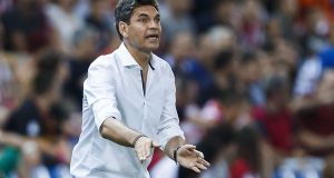 Mauricio Pellegrino has been appointed as the new Southampton manager. Photograph:  Gonzalo Arroyo Moreno/Getty Images