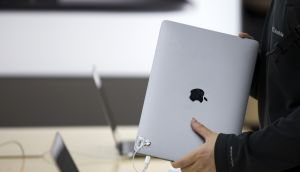 As a US-listed company, Apple would generally employ a more aggressive investment policy on its funds than a sovereign state. Photograph: Bloomberg