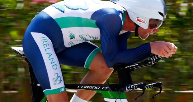 Ryan Mullen  claimed the Irish elite time trial championship in Wexford.  Photograph  Jamie 4960ea364