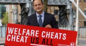 The social welfare fraud campaign  was conceived by Taoiseach Leo Varadkar when minister for social protection. Photograph: The Irish Times
