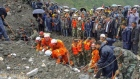 Over 100 people buried by landslide in China