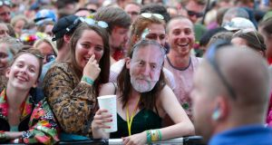 Glastonbury: Jeremy Corbyn is due to appear on Saturday afternoon, opening for the outspoken hip-hop duo Run the Jewels. Photograph: Yui Mok/PA Wire