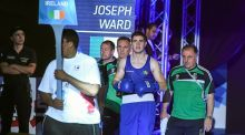 Joseph Ward won his third European title on Saturday. Photograph: Getty Images