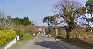 General view of Sea Road, Arklow, Co Wicklow, where a woman has died in a house fire. File photograph: Google Street View