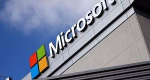 The US Supreme Court has been asked by the US government to decide a case involving efforts by law enforcement to access emails held on a Microsoft server in Dublin. Photograph: Lucy Nicholson/Reuters