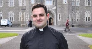 Ireland's youngest priest: Fr David Vard, who is 25, is a past pupil of Patrician Secondary School in Newbridge