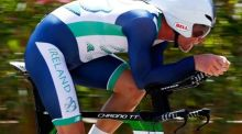 Ryan Mullen claimed  the elite road race title in Wexford on Sunday after winning gold in the time trial  on Thursday