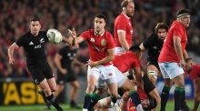 Warren Gatland said that the All Blacks took cheap shots at Conor Murray during the first Test. Photo: Andrew Cornaga/Inpho
