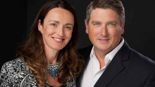 Kira and Mark Walton, owners of the Voya skincare range. Photograph: Suzy McCanny Photography