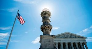 The US Supreme Court has ruled that the Trump administration may enforce its 90-day ban on travellers from six mostly Muslim countries. Photograph: Brendan Smialowski/AFP/Getty Images.