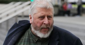 Tom Humphries pleaded guilty in March to six counts of abuse of a girl under the age of 17. Photograph: Collins