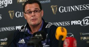 Munster director of rugby Rassie Erasmus. Photograph: James Crombie/Inpho