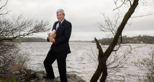 Vincent Carton, Managing Director of Manor Farm photographed at Lough Sillan behind their processing plant in Shercock, County Cavan. (Photograph: Barry Cronin)