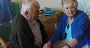 Tom and Kathleen Devereux spoke to 'Liveline' after Kathleen was prevented from joining her husband in his nursing home. Photograph: Liveline