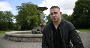 Damien Dempsey on walkabout in Dublin's  Iveagh Gardens. Photograph Nick Bradshaw