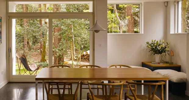 From The Kitchen/dining Room Facing The Garden On The East Side. Mark Arigho