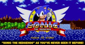 Sega Forever for mobile devices includes classic Sega games such as 'Sonic the Hedgehog'.