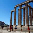 "For tourists, Greece is ""just a holiday destination with colourful celebrations, photos and Facebook posts"". Photograph: Yannis Behrakis/Reuters"