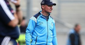 Jim Gavin: took exception to Pat Spillane's comments about Dermot Connolly on The Sunday Game. Photograph: Gary Carr/Inpho