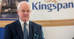 "Kingspan chairman Eugene Murtagh. Merrion Capital upgraded the building materials group to a ""buy"" rating. Photograph: Brenda Fitzsimons"