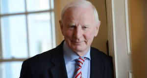 Former Olympic Council of Ireland president Pat Hickey, now back in Ireland on bail, is still awaiting a court date in Rio to face various charges in relation to alleged ticket-touting. Photograph: Alan Betson