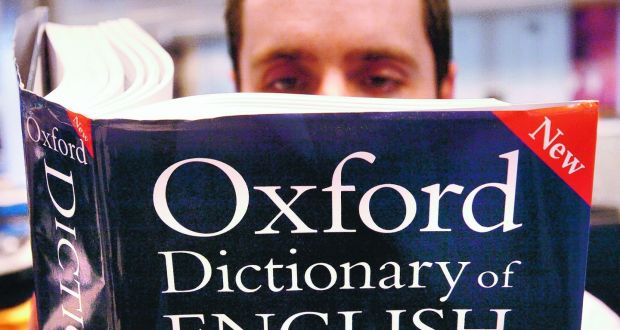 Oxford Dictionary has a new last word