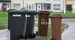 Consumers should contact their waste provider immediately to find out how their current package will be affected by the changes.   Photograph: David Sleator/The Irish Times