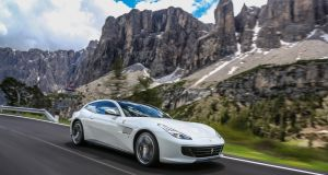 "Tweak the ""Manettino"" switch on the bottom of the steering wheel to Sport and the Lusso will accelerate with undisguised ferocity, and all the noise your ear canals can safely carry."