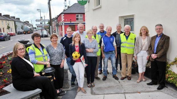 Community volunteers in Kildorrery, Co Cork. Photograph: Daragh Mc Sweeney/Provision