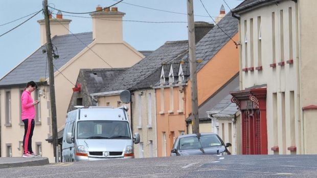 The main street of Kildorrery, Co Cork. Photograph: Daragh Mc Sweeney/Provision