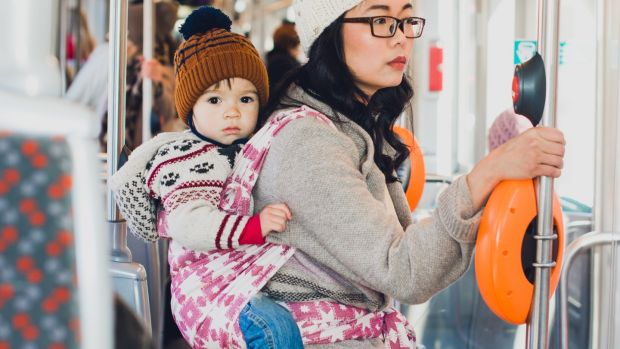 """Estonians are very open to change,"" says Alice Chau-Ginguene (37), who lives in Dublin but co-runs Estonian baby sling firm Lova as an e-resident of the country. ."