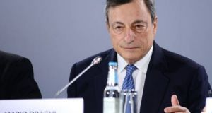 "Mario Draghi: he wants to keep his options open as to how fast ""tapering""  will take place"