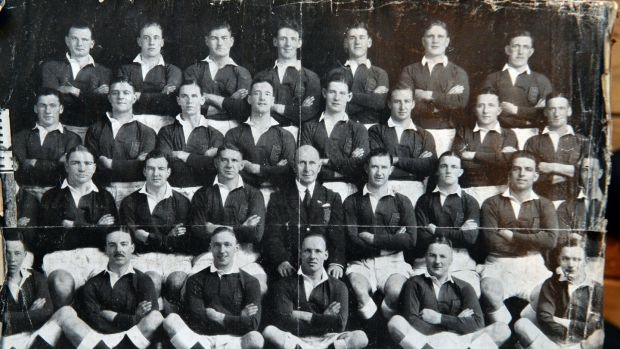 The British & Irish Lions team in 1930. Photograph: Cyril Byrne
