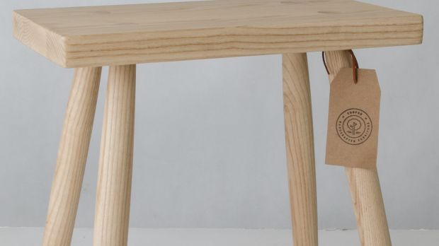 Handcrafted furniture by Ciaran Cooper from Monaghan at Brown Thomas