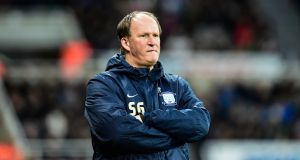Sunerland have been given permission to speak to Preston boss Simon Grayson over the vacant managerial role at the Stadium of Light. Photograph: Serena Taylor/Newcastle United/Getty