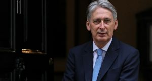 Chancellor of the exchequer Philip Hammond told the Commons on Thursday the UK government will fund abortions for women coming to have them in England from Northern Ireland. Photographer: Chris Ratcliffe/Bloomberg