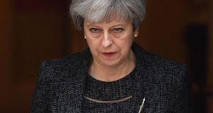 British prime minister Theresa May's move on April 18th to call a snap election on June 8th put paid to such AIB plans at the time. Photograph:  Chris J Ratcliffe/ Getty Images