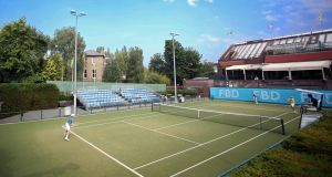 Fitzwilliam Tennis Club will host the AIG Irish Open in July. Photograph: Donall Farmer/Inpho