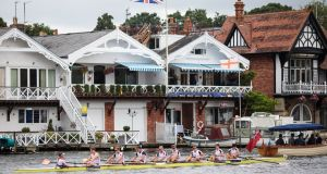 The five-day Henley Royal Regatta on the River Thames is now in its 178th year.  Photograph: Jack Taylor/Getty Images