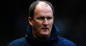 Simon Grayson: poised to take over the reins at relegated Sunderland in the  Championship. Photograph: Harry Trump/Getty Images