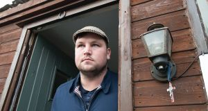Actor and film-maker John Connors says he found his family 'traumatised' when he got home to the halting site where he lives. Photograph: Dave Meehan